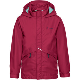 VAUDE Escape Light III Chaqueta Niños, crimson red